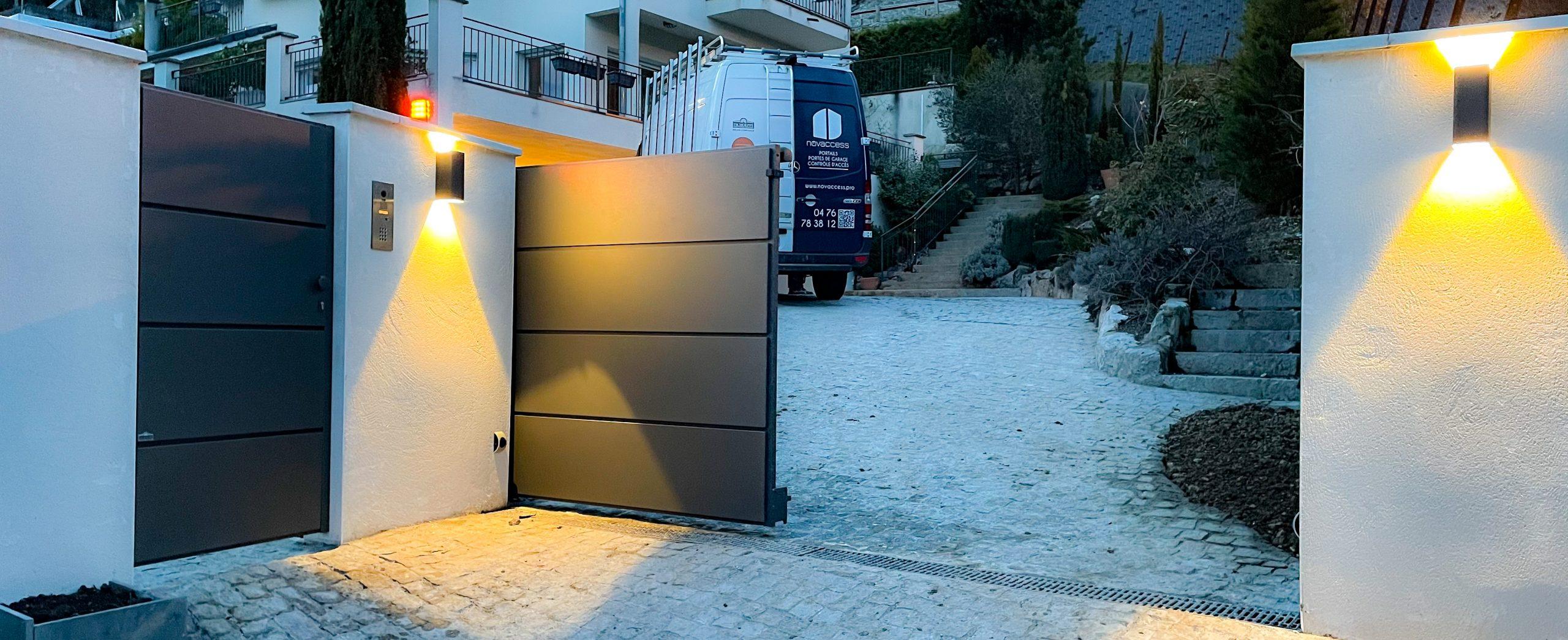 Portail aluminium Novaccess